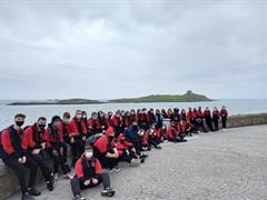 TY trip to Dalkey Island by Molly Webster